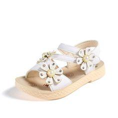 Fleur pieds nus sandales Hairband Toe Blooms Mignon nourrissons Chaussette Fille Bandeau