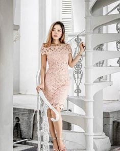 crotchet dress
