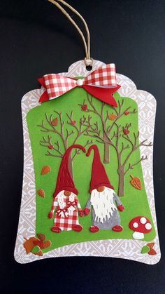 Image result for marianne designs tomte Christmas Paper Crafts, Christmas Gnome, Christmas Gift Tags, All Things Christmas, Winter Christmas, Christmas Decorations, Christmas Ornaments, Marianne Design Cards, Handmade Tags