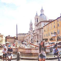 """@tlnique's photo: """"HELLO ROMA!   #tlniqueinrome"""""""