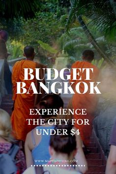 Presupuesto Bangkok: La experiencia de la ciudad por menos de $ 4! Viajar en Tailandia.