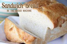 Lovely Little Snippets: Sandwich Bread {in the bread machine}