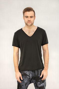 Męski t-shirt ROLO czarny