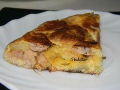 Cuchiflitos: Tortilla de patata y lechecillas de ternasco