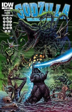 Godzilla takes on all comers  . . .