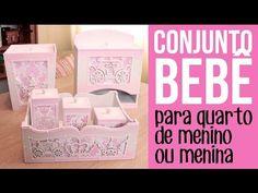 Conjunto para quarto de bebê (menino ou menina) - YouTube