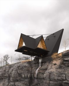 The Iranian Architect & Interior designer Milad Eshtiyaghi has evnisioned a suspended cliff house planned to be built in #Mendocino, #California, USA. #architecture #architect #amazingarchitecture #design #interiordesign #interiordesigner #decor #homedecor #home #house #luxury #diy #travel #amazing #photography #realestate #casa #arquitecto #arquitectura #decoration #cliff #cliffhouse #cabin #suspended #suspendedhouse #render #vray #3d #lumion #nature #unitedstates #3dsmax #houseplan Mendocino California, Cliff House, Amazing Architecture, House Plans, United States, Real Estate, Cabin, Interior Design, Studio