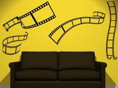 Pelicula de cine  $250.00  http://www.vinilosdivinos.com/tiendavinilos/cine/vinilos-decorativo-cine-pelicula