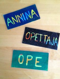 Name Tags, Art Education, Back To School, Names, Teaching, School, Pictures, Name Badges, Art Education Resources