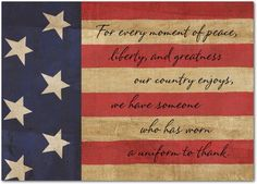 Proud and Peaceful - Patriot Day Cards from Treat.com