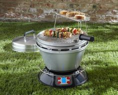 Portable Wood-Fire Grill   Cool Material