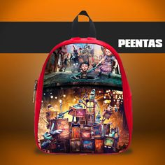 THE BOXTROLLS -  Design variations School Bag