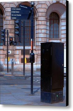 Choices Canvas Print / Canvas Art By Dorothy Berry-lound #london  #interiordecor #printforsale