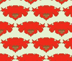 poppy_and_sky fabric by holli_zollinger on Spoonflower - custom fabric