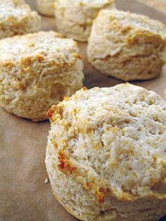 gluten free drop biscuits made with Premium Gold® Ancient Grains All Purpose Flour. i may swap in vegan margarine and vegan milk for this one!