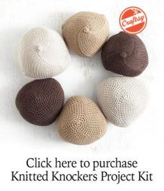 Make a Knocker | How to make a knocker | Knitted Knockers