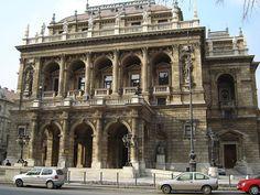 Ópera Nacional de Hungría.