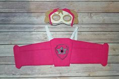 Check out this item in my Etsy shop https://www.etsy.com/listing/249824604/skye-paw-patrol-mask-and-wing-set-with