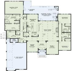 [ Jill Floor Plans Study House Need Master Closet Floors Ranch Style Open Plan Friv Games ] - Best Free Home Design Idea & Inspiration House Plans And More, Dream House Plans, House Floor Plans, My Dream Home, Ranch Floor Plans, Large House Plans, Beautiful House Plans, Open House Plans, House Plans One Story