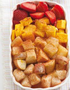 Dieta Já » Arquivo » Salada de frutas assada