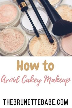 How To Avoid Cakey Makeup  http://thebrunettebabe.com/index.php/2018/04/29/how-to-avoid-cakey-makeup/