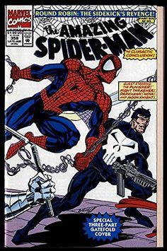 SPIDERMAN 358 PUNISHER MOON KNIGHT @ niftywarehouse.com #NiftyWarehouse #Spiderman #Marvel #ComicBooks #TheAvengers #Avengers #Comics