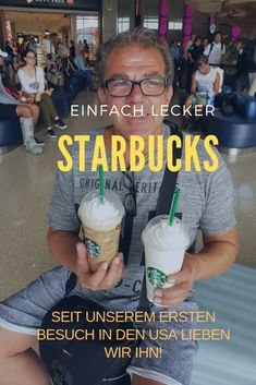 During our visits to the United States, we have visited many Starbucks stores. It starts with the layover at the Philadelphia airport. Travel Guides, Travel Tips, Los Angeles Travel, Los Angeles Restaurants, Europe Destinations, United States Travel, European Travel, Foodie Travel, Wasting Time