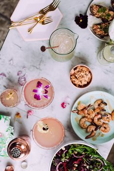 Lavender Lemonade Port Cocktail - Christiann Koepke