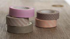 Le ''washi tape'' vous connaissez? Ce sont ces petits rouleaux de ruban-cache aux motifs colorés que