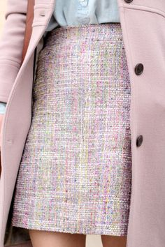 Fast Food & Fast Fashion: Winter Pastels I had a skirt like this in the  60's love it