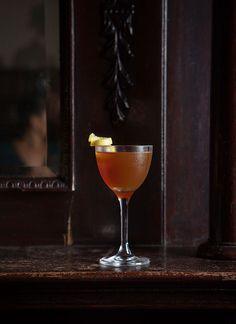 Lickety Split 1 ounce dry vermouth 3/4 ounce St-Germain 3/4 ounce Amaro Lucano Garnish: lemon peel