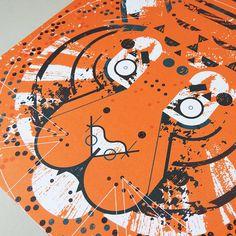 A3 Tiger Print