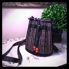 """❤️Adorable Evening Bag!! Very cute and practical evening bag. Bamboo made in tan and black colors all around it.  Small size as shown in last picture. Approx 7 1/2"""" X 6"""" X 6.5"""" (bottom).  -this can also serve as cross body bag- Bags Mini Bags"""