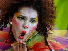 El colorido del carnaval de Barranquilla, Colombia. Es el segundo más grande del mundo después de Brasil y fue declarado Patrimonio Cultural de la Humanidad.