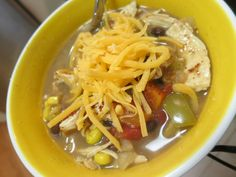 Catherine's Spicy Chicken Soup Recipe — Dishmaps