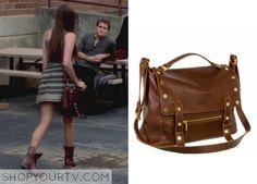 Elena Gilbert (Nina Dobrev) wears this studded crossbody bag in this week's episode of The Vampire Diaries. It is the Hammitt Silverlake Satchel. Pretty Little Liars Outfits, Cute Simple Outfits, Cute Outfits, Vampire Diaries Fashion, Vampire Diaries Seasons, Elena Gilbert, Nina Dobrev Style, College Outfits, Summer Outfits