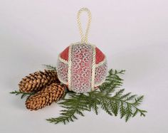 New Year's decoration Christmas tree decoration lace ball