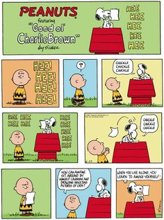 'Hee, Hee, Hee!', Snoopy draws insulting pictures of Cats, poor Charlie Brown.