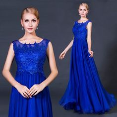 wedding dress neat blue water soluble lace wedding gown bride long skirt in http://www.allymey.com online shopping sites