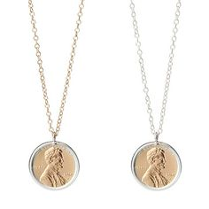 Look what I found at UncommonGoods: Penny Necklace With Personalized Year for $NaN #uncommongoods