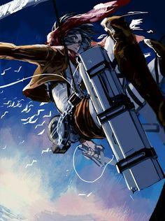 Mikasa from Attack On Titan