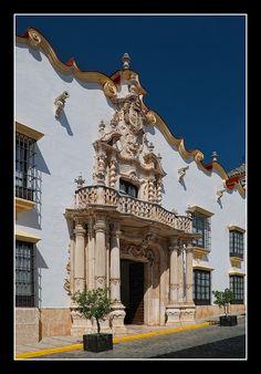 palacio marques de la gomera calle san pedro osuna sevilla by Pepe Gil Paradas, via Flickr