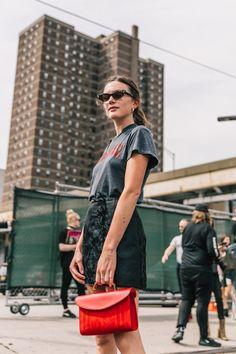 Street Style #NYFW / Día 6 Foto: © Diego Anciano / @collagevintage2
