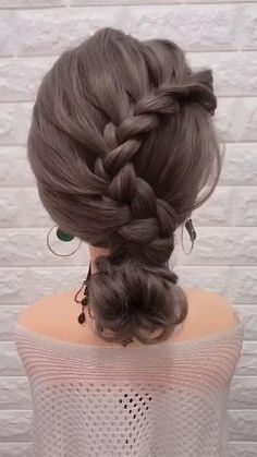 Easy Summer Hairstyles, Work Hairstyles, Weave Hairstyles, Wedding Hairstyles, Quick Hairstyles, Black Girls Hairstyles, Braided Ponytail Hairstyles, Braided Hairstyles Tutorials, Medium Hair Styles