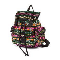 Berry Yarn Dye Backpack