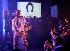 RANCHO MIRAGE, CA - MARCH 08: Rapper Ja Rule performs on stage at the Tequila Herradura 12th Annual Desert Smash Player Party Benefitting St. Jude Children's Research Hospital on March 8, 2016 in Rancho Mirage, California. (Photo by Joe Scarnici/Getty Images for Tequila Herradura)