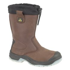 Amblers Steel FS219 Safety Pull On / Womens Boots / Riggers Safety: Amazon.co.uk: Shoes & Bags