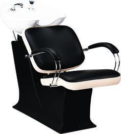 Lady Godot wash unit by Ayala salon furniture. Contemporary salon design. #Backwash #Salonideas