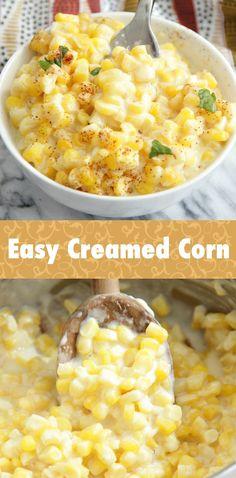 Easy Creamed Corn - Eat. Drink. Love.