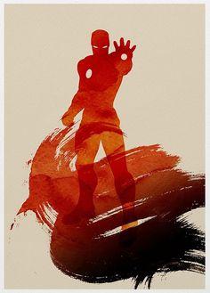 Iron Man Art. Found on Tumblr